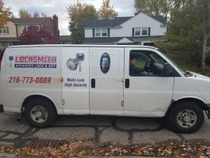 Our Mobile Locksmith Unit in Lakewood, OH