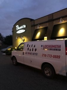 Our Mobile Locksmith Unit in Westlake, OH