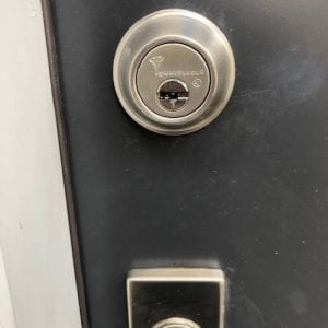 High Security Locks Installation