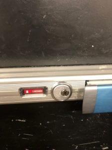 Push Bar Installed