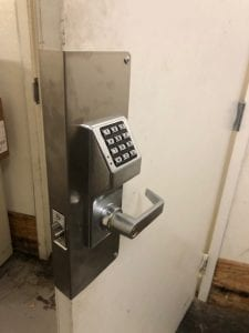 Commercial Keyless Lock